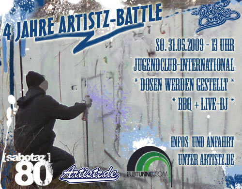 4 Jahre Artistz-Battle