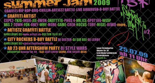 Yard 5 Jam mit Artistz-Battle