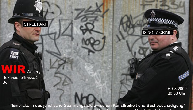 (Il)legal Art: Ein juristischer Blick auf Graffiti
