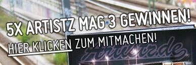 Artistz Mag #3 Gewinnspiel