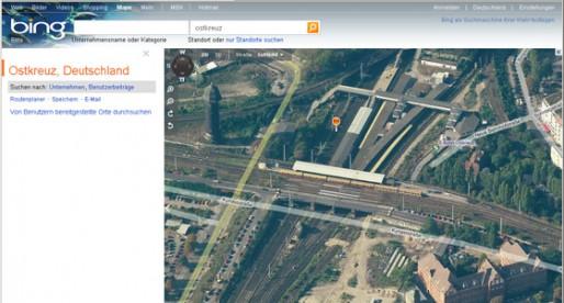 Checken 3.0 mit Bing Maps