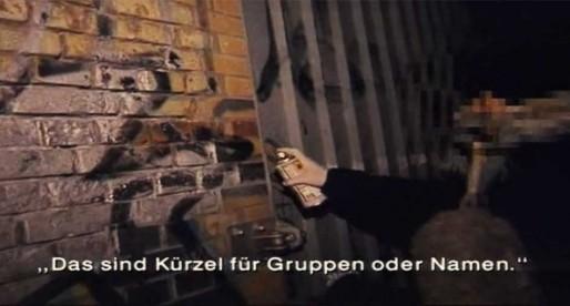 ZDF Reporter: Sprayer und Scratcher in Berlin