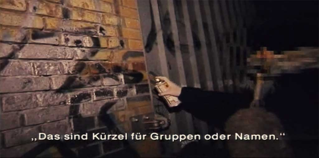 ZDF Reporter: Sprayer und Scratcher in Berlin