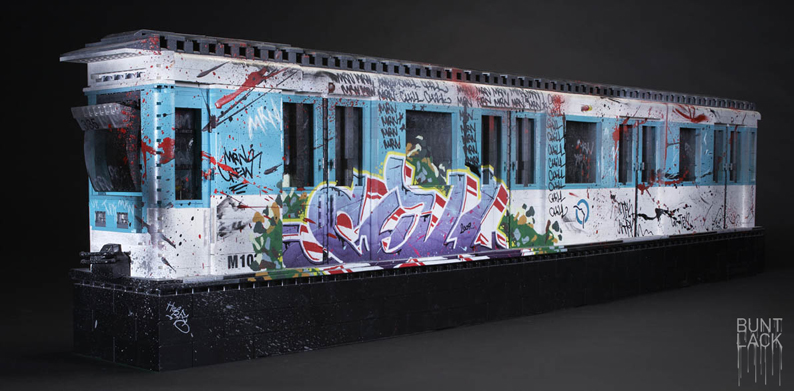 LEGO Graffiti Styles Convention