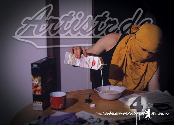 ARTISTZ Magazin 4 in der Mache