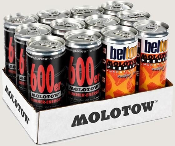 Gewinnspiel – 3×12 Molotow Energy Drinks