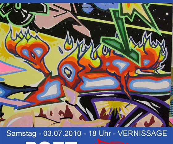 Vernissage: POET bei Yard 5
