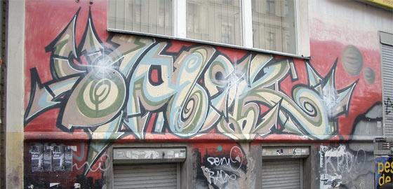 Das beste Graffiti der Stadt