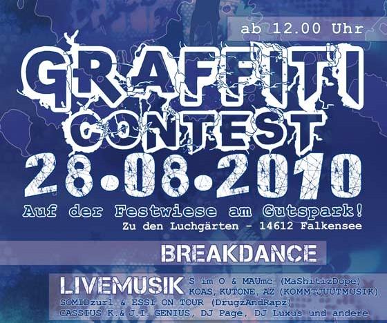 Graffiti-Contest in Falkensee
