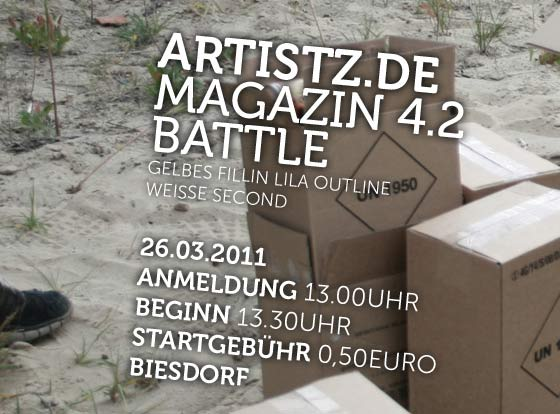 Artistz Magazin 4.2 Battle