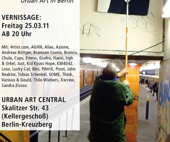 Urban Art Central: Eröffnung