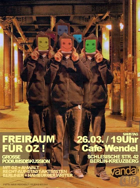 Vandal Café 4 – Freiraum für OZ