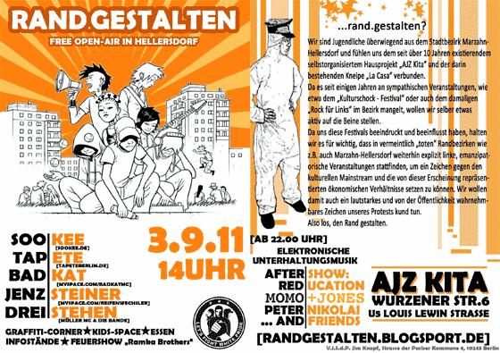 Festival: Rand.gestalten 2011