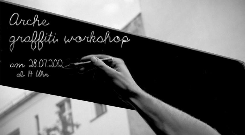 Arche Graffiti Workshop – Juli 2012