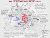 Berliner Kriminalitätsatlas 2011: Graffiti-Statistik