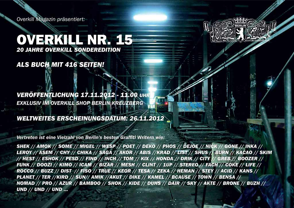 Preview: Overkill #15 – 20 Jahre Overkill