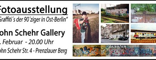 Fotoausstellung: Graffiti der 90er in Ostberlin