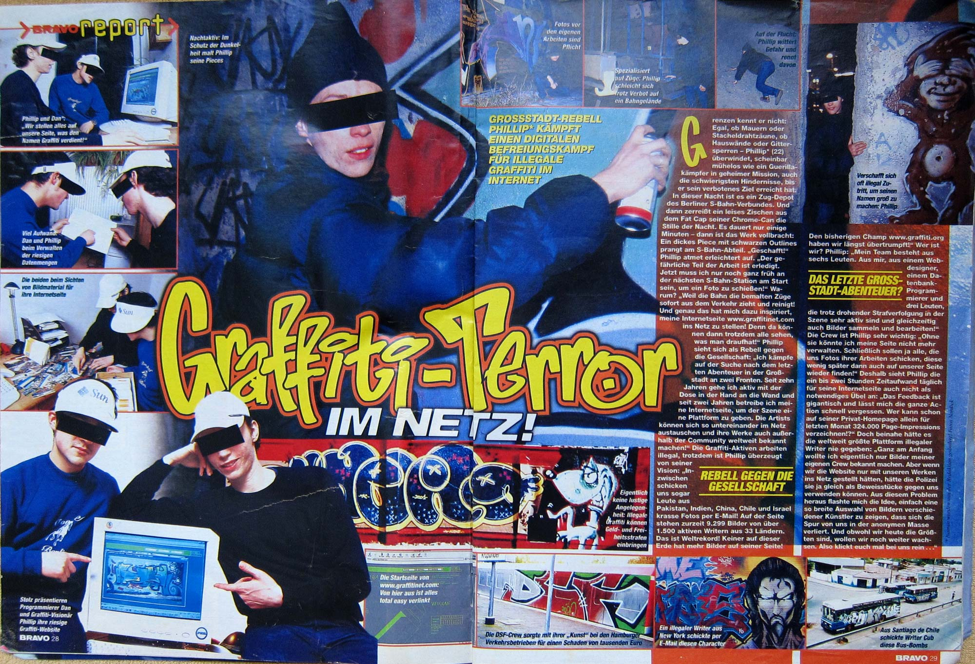 Bravo Report: Graffitinet.com