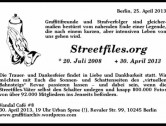 Vandal Café 8 – Streetfiles R.I.P.