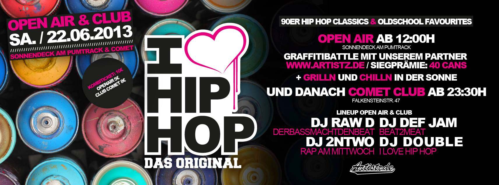 Artistz Battle – I Love Hiphop Openair