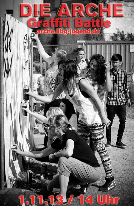 Arche Graffiti Workshop – November 2013