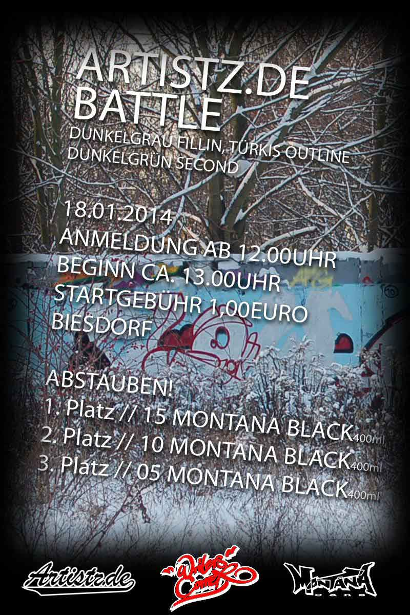 Artistz Winter-Battle 2014
