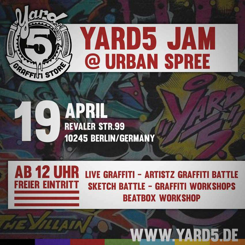 Yard 5 Jam – Urban Spree