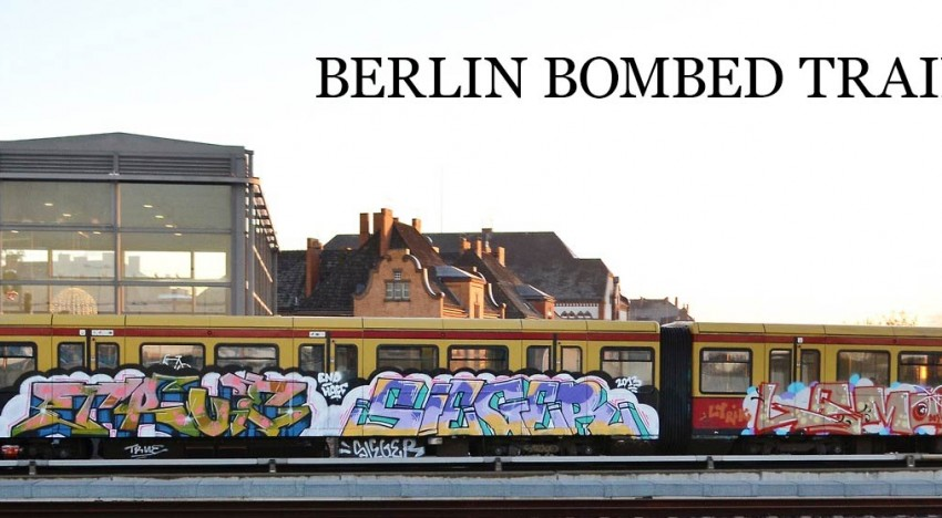 Berlin Bombed Trains