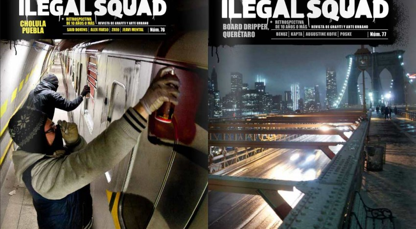 E-Book: Illegal Squad 76 & 77