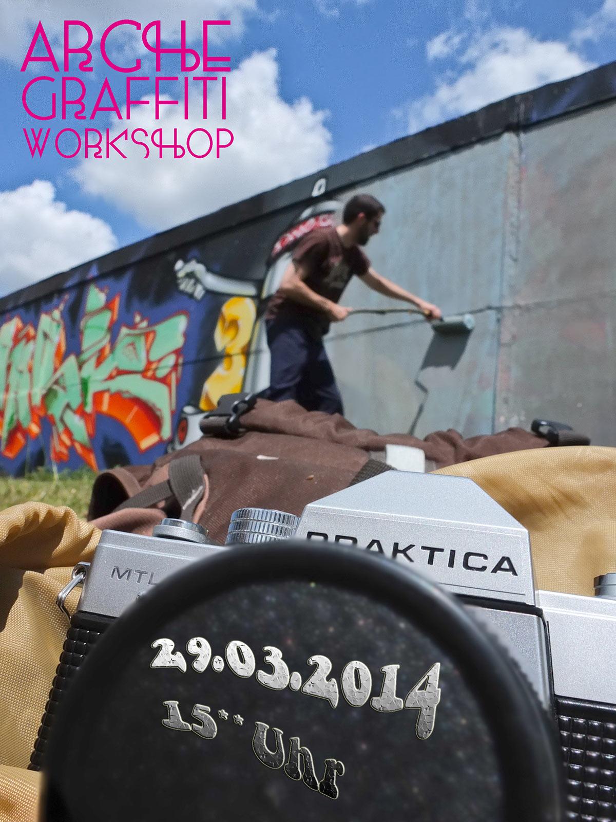 Arche Graffiti Workshop – März 2014