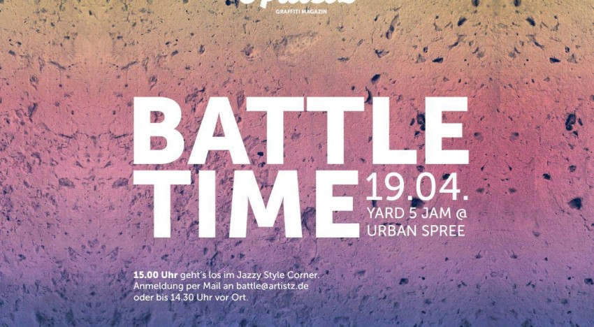 ARTISTZ Battle Time – Yard 5 Jam