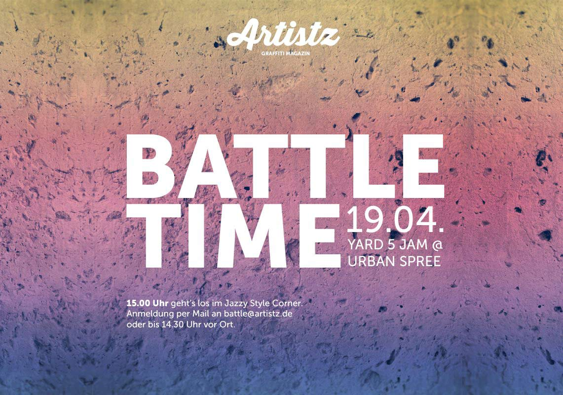 ARTISTZ Battle Time – Yard 5 Jam