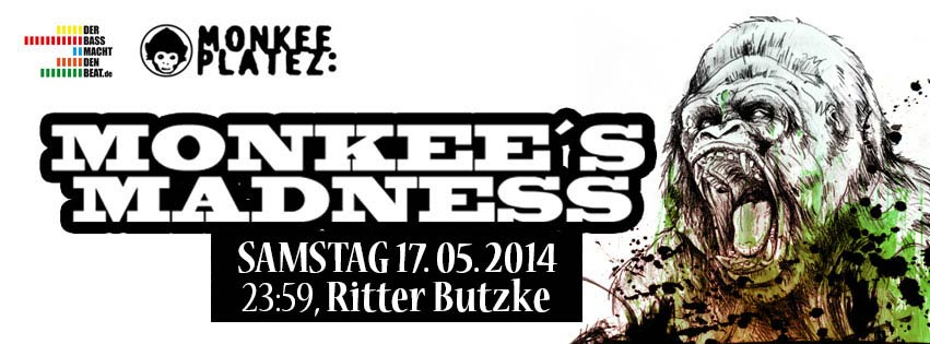 Gewinnspiel – 3×1 Monkees Madness Freikarten