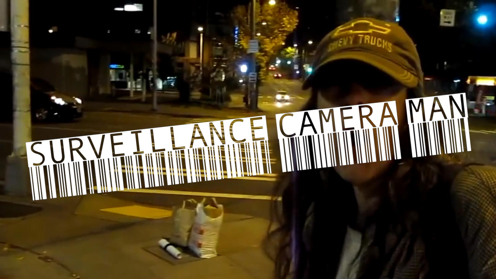 Surveillance Camera Man