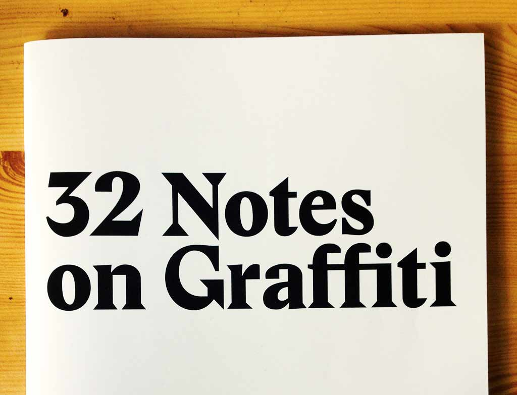 Review: 32 Notes on Graffiti