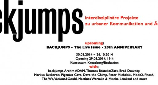 Backjumps Live Issue – 20th Anniversary
