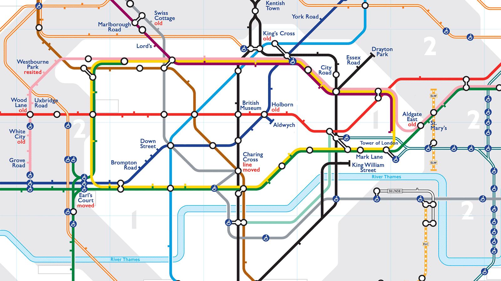 Geisterbahnhöfe in London