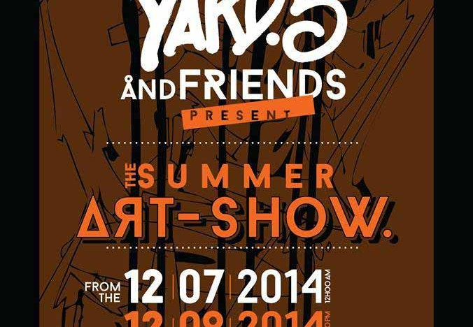 Yard 5 & Friends – Summer Art Show