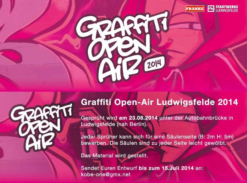 Graffiti Open-Air Ludwigsfelde 2014