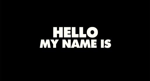 Hello My Name Is: 2×2 Freikarten zu gewinnen