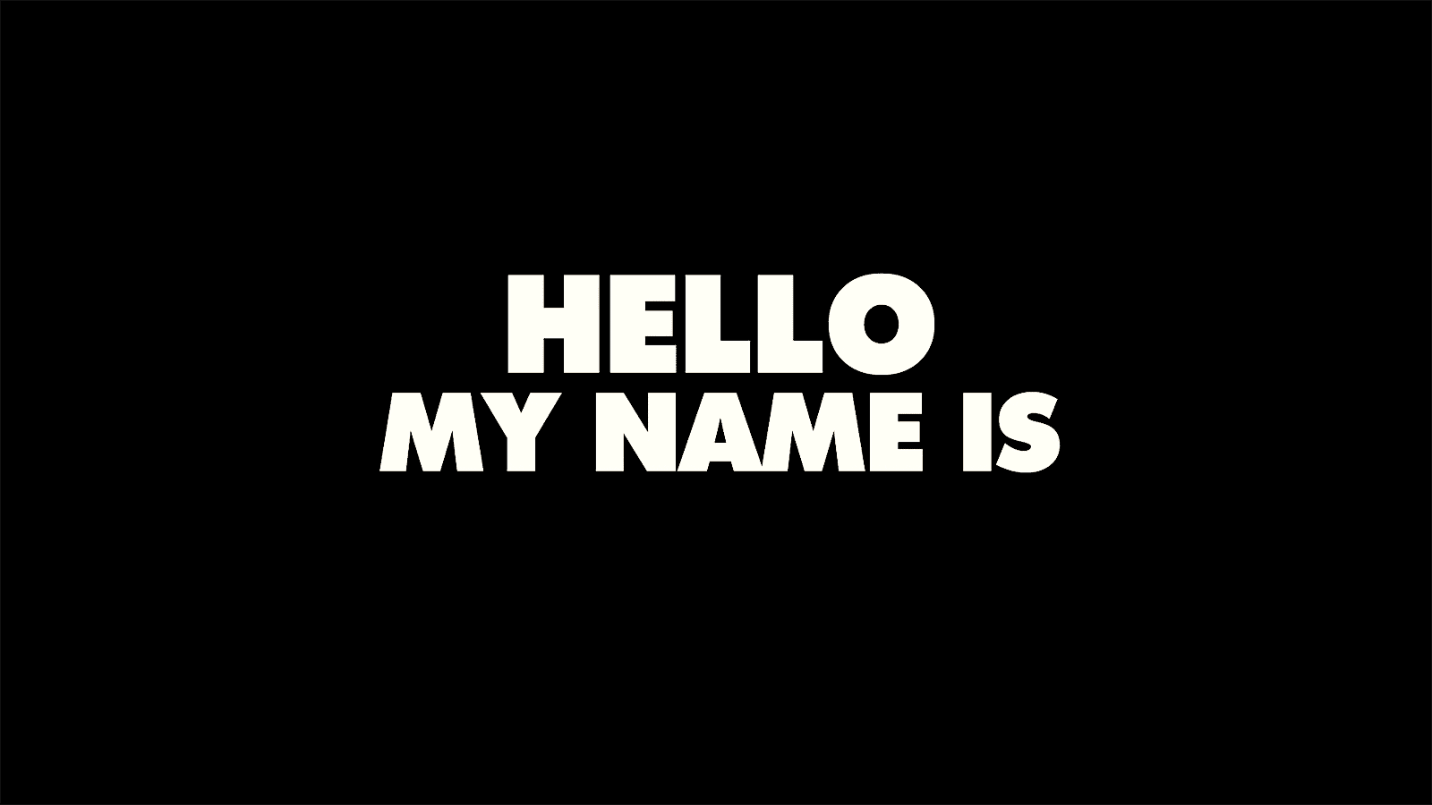 Trailer: Hello my name is – German Graffiti