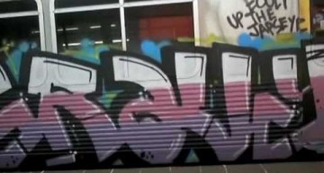 Brisbane Flood Graffiti