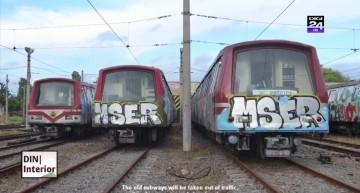 Digi24: Bucharest Metro Graffiti