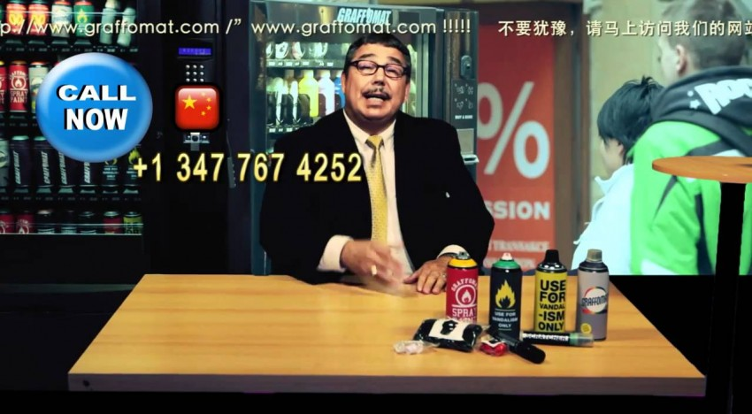 Graffomat Teleshopping
