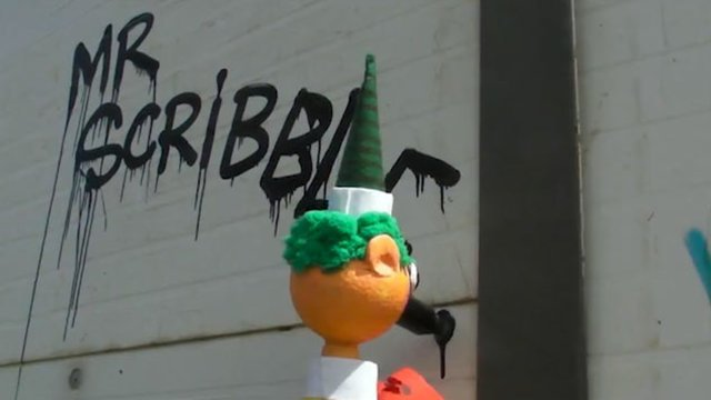 Mr. Scribble