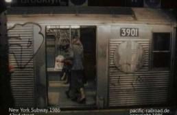 New York Subway 1986