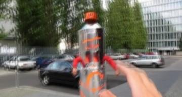 Mr. Spray in Berlin