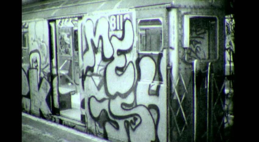Super Rare 80s Subway Bombing
