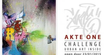 Ausstellung: AKTEone Challenge