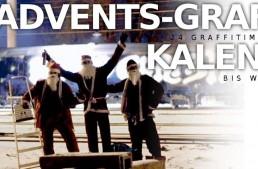 Graffiti-Musik Adventskalender